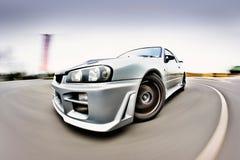 гонка японца автомобиля Стоковые Фотографии RF