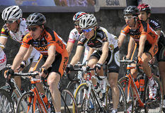 гонка 2010 apennines задействуя Стоковые Изображения RF