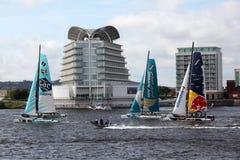 Гонка 2012 Sailing залива Cardiff весьма Стоковая Фотография RF