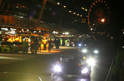 гонка 24h Le Mans Стоковое Фото