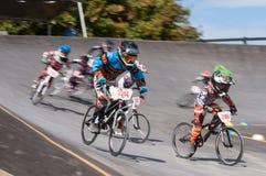 Гонка BMX Стоковое Фото