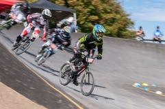 Гонка BMX Стоковые Фото