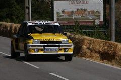 гонка caramulo автомобиля Стоковые Фотографии RF