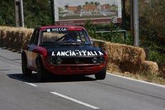 гонка caramulo автомобиля Стоковое Изображение