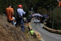 гонка caramulo автомобиля Стоковые Фото