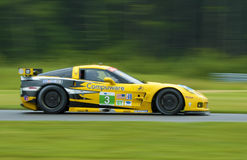 гонка corvette автомобиля Стоковые Фотографии RF