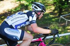 Гонка Cyclocross Стоковое Изображение RF