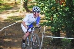 Гонка Cyclocross Стоковое Изображение