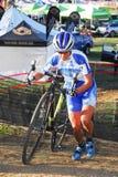 Гонка Cyclocross Стоковая Фотография