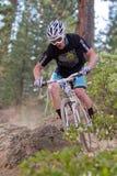 гонка cyclocross bike покатая Стоковые Изображения RF