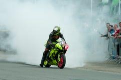 Гонка IRRC Supersport в Остенде Бельгии Стоковая Фотография RF