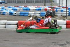 Гонка Kart Стоковое Фото
