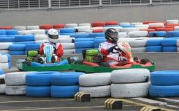 Гонка Kart Стоковое фото RF