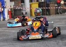 Гонка Kart Стоковые Изображения RF