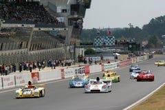гонка Le Mans автомобиля классицистическая Стоковые Фотографии RF