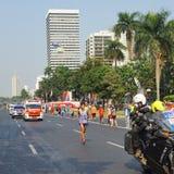 Гонка mararathon людей в Азиатских играх Джакарты восемнадцатых Стоковое Фото