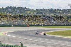 Гонка Misano MotoGP Стоковое Изображение