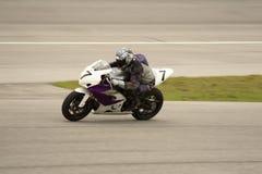гонка moto Стоковая Фотография