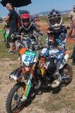 Гонка Motocross Стоковое фото RF
