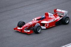 гонка v6 формулы 2 Азия Стоковые Изображения RF