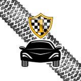Гонки автомобиля спорт Стоковые Изображения RF