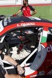 Гонки автомобиля Италии чашки Порше Carrera стоковая фотография