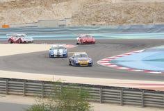 Гонки автомобиля Порше во время чашки Challeng Порше GT3 Стоковая Фотография RF