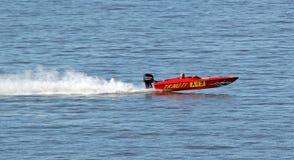 Гонки быстроходного катера Стоковые Изображения RF