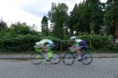 Гонки велосипеда улицы Стоковые Фотографии RF