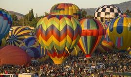 Гонки воздушного шара Стоковые Изображения
