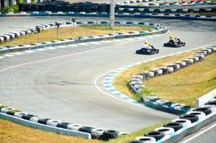 гонки Идти-тележки стоковая фотография rf