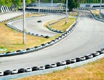 гонки Идти-тележки стоковые фотографии rf
