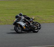 Гонки мотоцикла парка Mallory Стоковые Изображения RF