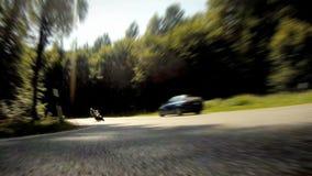 Гонки мотоцикла сток-видео