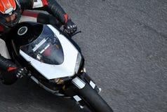 Гонки мотоцилк Стоковое Изображение