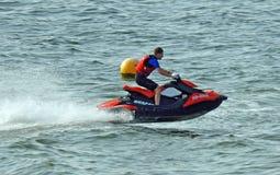 Гонки лыжи двигателя Watersports Стоковые Фото
