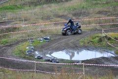 Гонки ATVs Стоковое Фото