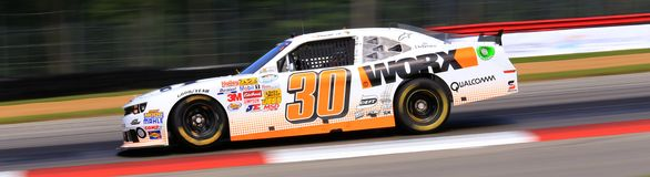 Гонки Chevy NASCAR Стоковое Фото