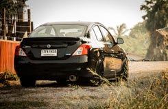 Гонки Nissan Стоковое Изображение