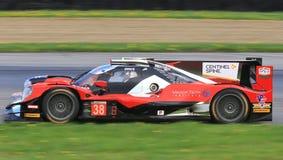 Гонки Oreca LMP2 Motorsports техника представления Стоковая Фотография RF