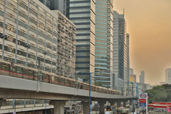 Гонконг городской, район схвата kwun Стоковое Изображение RF