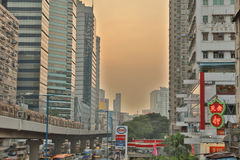 Гонконг городской, район схвата kwun Стоковое фото RF
