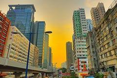 Гонконг городской, район схвата kwun Стоковое Фото