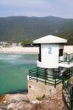 Пляж Tai длинний болезненный Стоковое фото RF