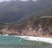 Пляж Tai длинний болезненный Стоковые Изображения