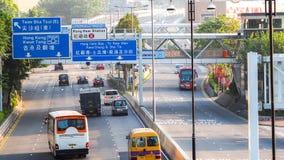 ГОНКОНГ - 8-ОЕ ДЕКАБРЯ 2016: Взгляд офиса & коммерчески зданий в центральной площади в Гонконге, 8-ого декабря 2016 центрально стоковое изображение
