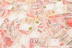 Гонконг 100 долларов Стоковая Фотография