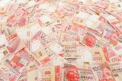 Гонконг 100 долларов Стоковое Изображение