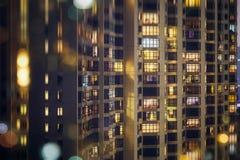 Гонконг расквартировывая жилой квартал Стоковое фото RF