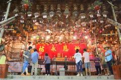 Гонконг: Фестиваль 2016 плюшки Cheung Chau Стоковое Фото
